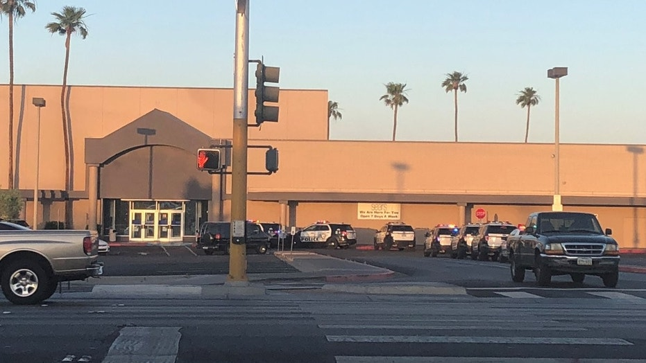 Authorities responded to calls of an active shooter Thursday evening at the Boulevard Mall in Las Vegas.