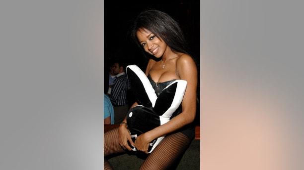 Playboy Playmate Stephanie Adams (Photo by Jamie McCarthy/WireImage for Playboy Enterprises)