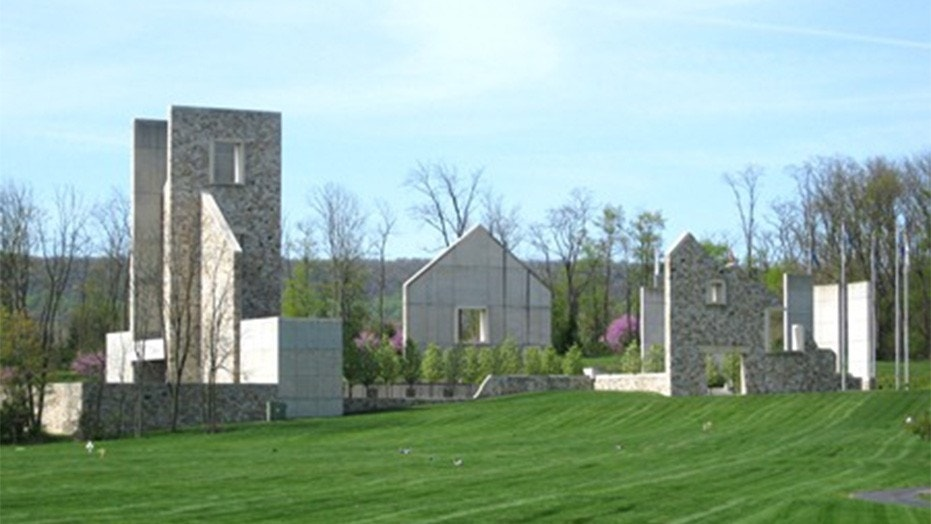 The Pennsylvania Veterans' Memorial at Indiantown Gap National Cemetery in Annville, Pa.
