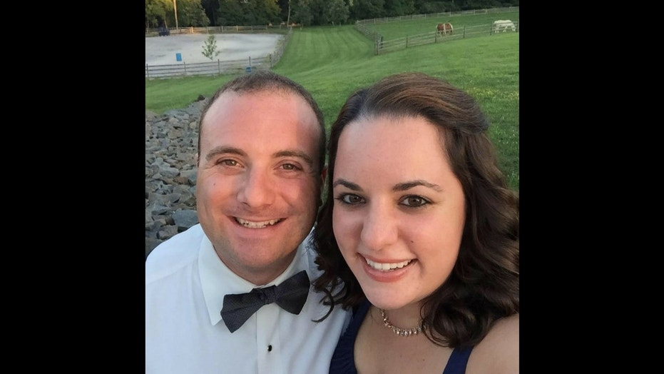 Michael Colangelo, 31, who got married to his wife Katherine on Sunday, died in a one-car crash.