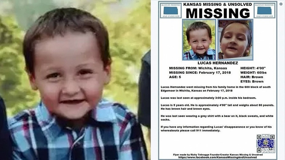 [BREAKING] Lucas Hernandez: 'Small' human remains found likely of missing Kansas boy