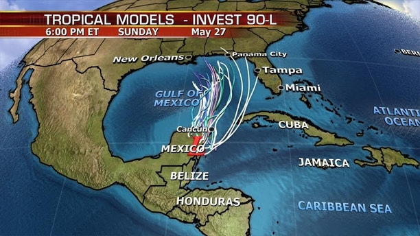 Subtropical Storm Alberto Forms in Caribbean, Will Drench Miami All Weekend