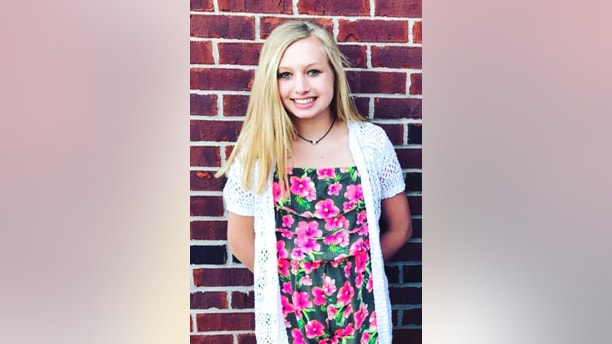 This undated photo provided by the Whistler family shows Ella Whistler.  Whistler was shot in a classroom Friday, May 25, 2018 at Noblesville West Middle School in Noblesville, Ind., near Indianapolis. Whistler's family released a statement late Friday night saying she was doing well at a local hospital but remains in critical condition.    (Whistler family via AP)