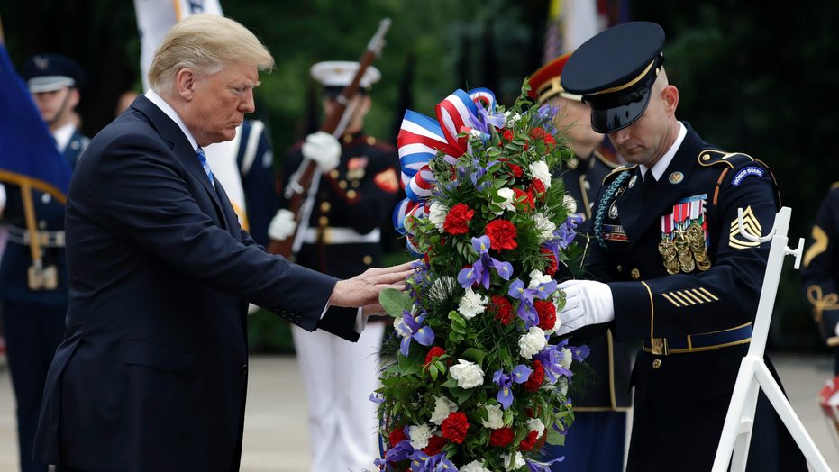 Trump's Memorial Day Speech In Arlington