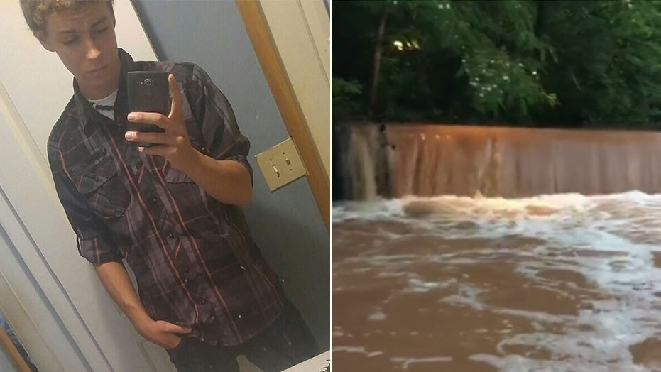 """Robert """"Bryant"""" Wade, left, is one of two Georgia teens feared to be dead after falling into an overflowing creek in Athens on Friday."""