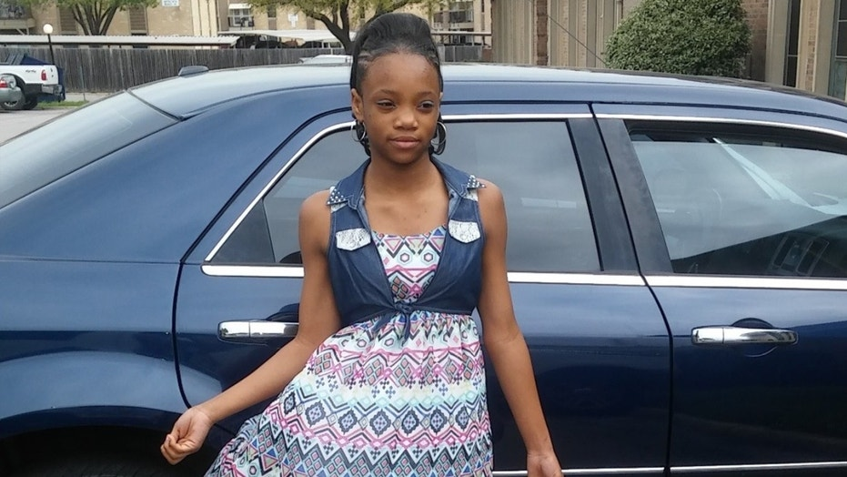 Nylah Lightfoot, 14, was stabbed to death early Tuesday.