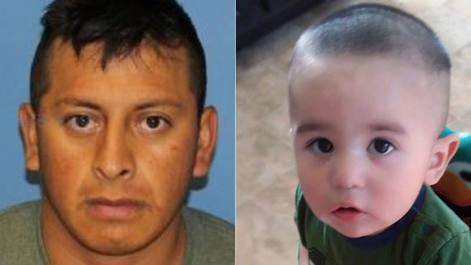 Officials in New York have called off a search for 14-month-old Owen Hidalgo-Calderon, who was feared dead after his mother's body was found May 24. Everardo Donoteo-Reyes, left, is a suspect in her death.