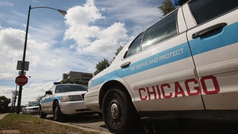 CHICAGO, IL - SEPTEMBER 08: Ford Crown Victorias, being used as Chicago police cars, sit outside a police station September 8, 2011 in Chicago, Illinois. Last month Ford saw sales of the Crown Victoria climb 140 percent compared with August 2010 as police departments began to stockpile the vehicle before Ford ended production at the St. Thomas, Ontario assembly line on August 31.  (Photo by Scott Olson/Getty Images)