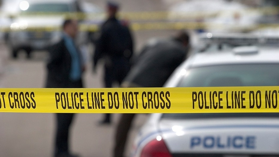 A gang-related shootout at a kid's party in the suburbs of Chicago early Sunday left seven wounded, one critically, the Aurora Police Department said.