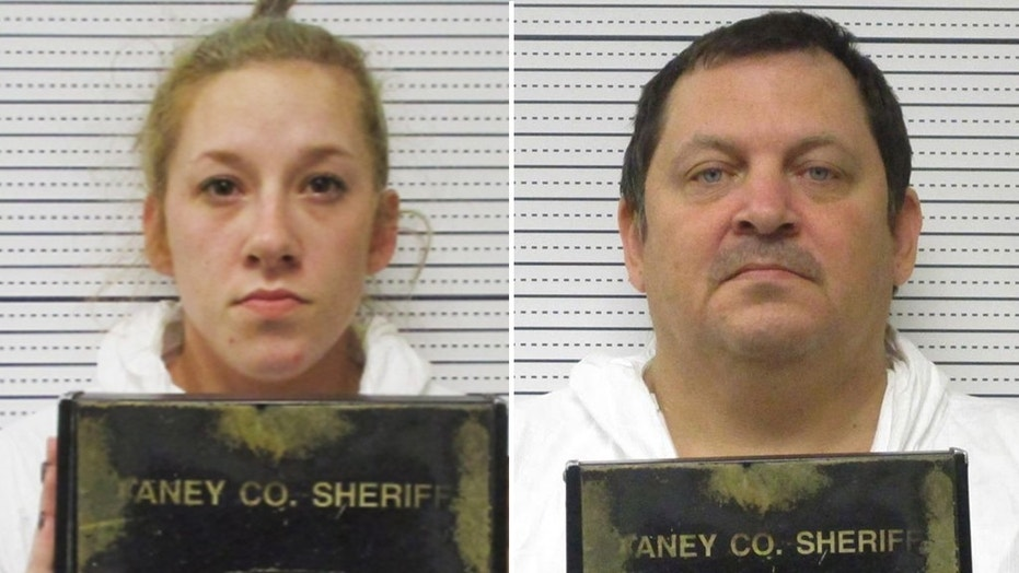 Bailey Boswell, left, and Aubrey Trail, right, were charged Monday in the murder of 24-year-old Sydney Loofe.