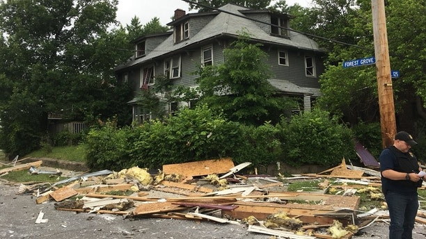 cleveland house explosion