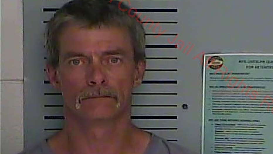 Roy Hancock, 51, and an unnamed juvenile were arrested in a sting operation after their alleged drug dealer inadvertently mixed up his own phone number with a police officer's in Morganfield, Ky., on Sunday.