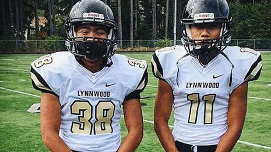 Ryan Truong (left) and Sayon Savorn, both 17, died within 48 hours of one another in Lynnwood, Wash., north of Seattle.