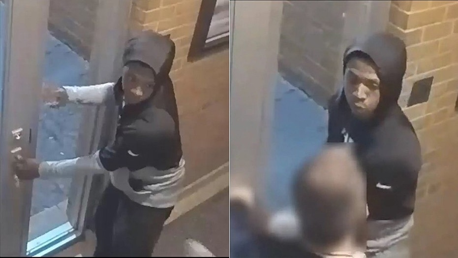 Chicago police are looking for the burglar who broke into a church Friday and punched a priest in the face.