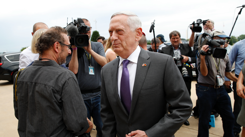 Mattis Begins Trip to China as Tensions Rise