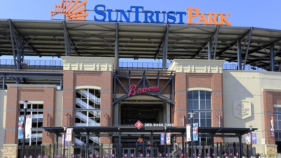 A dead body was found inside of a walk-in beer cooler at SunTrust Park in Atlanta, Georgia, on Tuesday, police said.