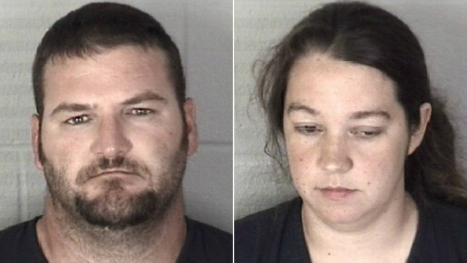 Shannon Breaux and Ashley Stigers are accused of tying up a boy and a girl as a form of punishment.