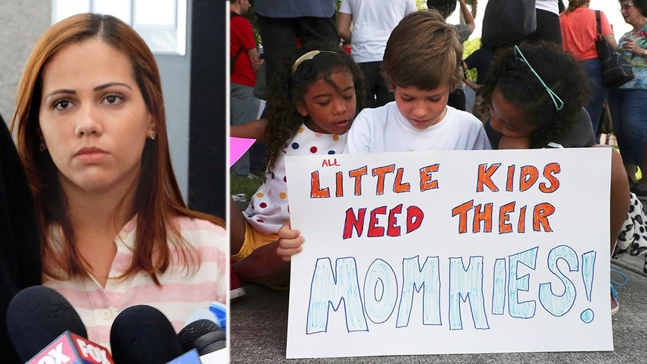 Lidia Karine Souza of Brazil has been fighting to get her son back.