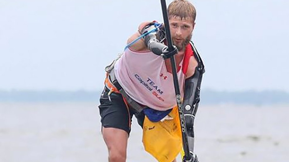 Cody Iorns, a 25-tear-old double amputee Army veteran, died Wednesday while paddle boarding in Maryland, authorities said.