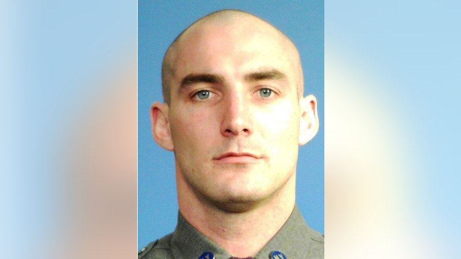 Trooper Nicholas Clark, 29, was fatally shot while responding to a domestic disturbance call in New York on Monday.