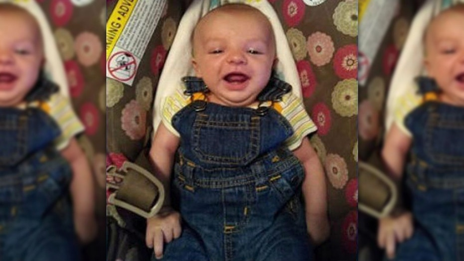Missing 4-month-old Tyr Lange was found dead Saturday in central North Dakota.