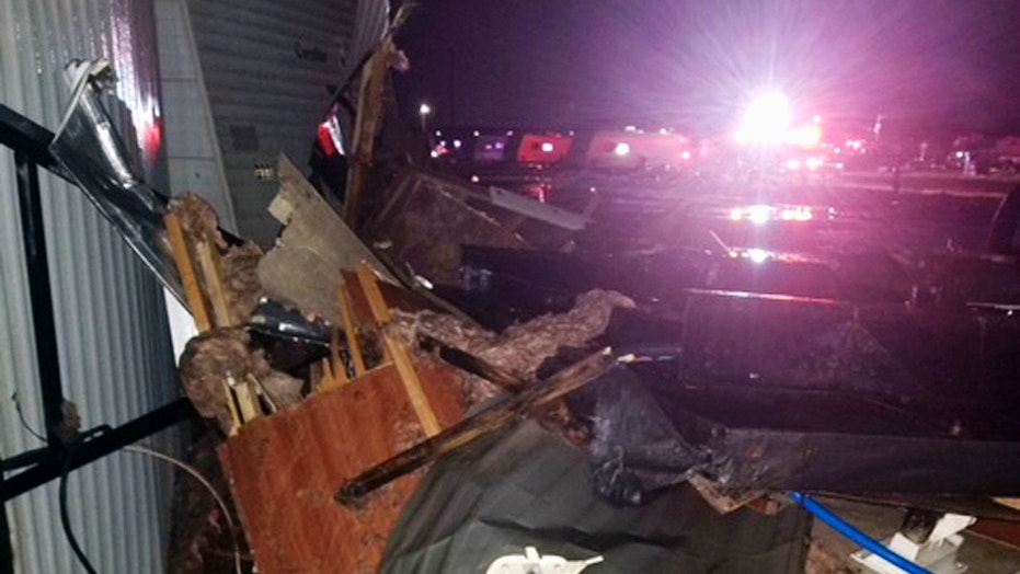 Baby dies after tornado flips trailer in North Dakota