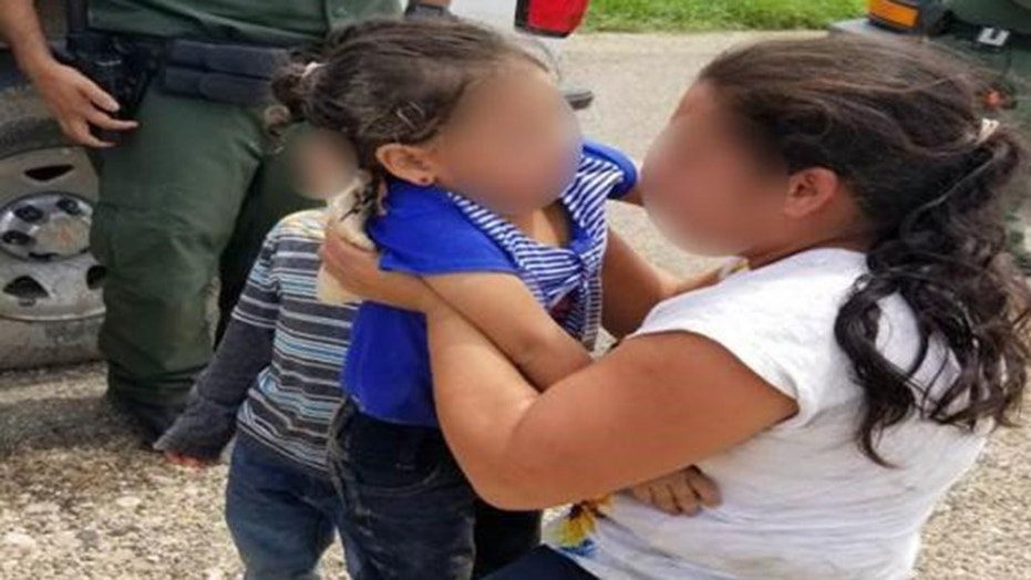 A three-year-old girl and her mother are reunited after being separated in Texas. U.S. Border Patrol says the two were separated after being smuggled across the southern border.