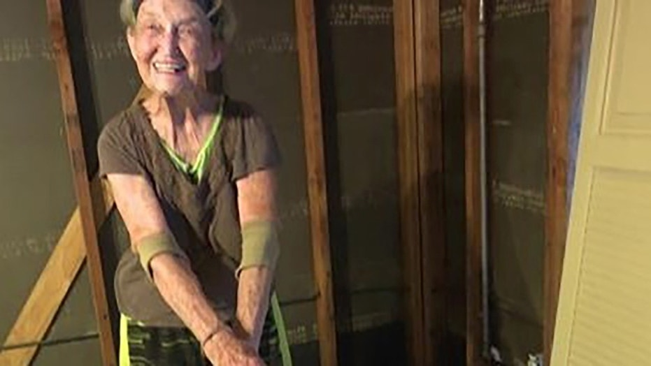 Rosalea Nall, 83, was forced to move back into her Texas home that was wrecked from Hurricane Harvey last year after her government assistance stopped, reports said Wednesday.