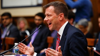 "FBI Deputy Assistant Director Peter Strzok, testifies before a House Judiciary Committee joint hearing on ""oversight of FBI and Department of Justice actions surrounding the 2016 election"" on Capitol Hill in Washington, Thursday, July 12, 2018. (AP Photo/Evan Vucci)"