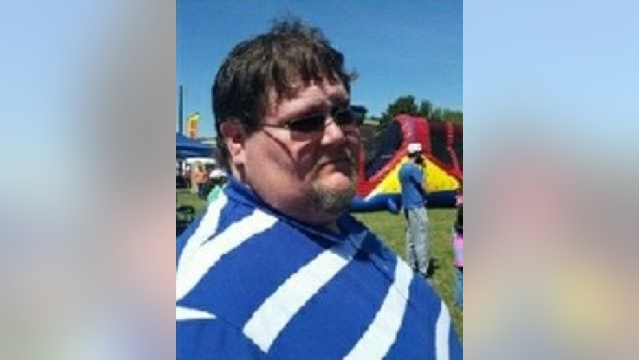 Darrell Hoskins died after he was hit by lightning on Saturday.