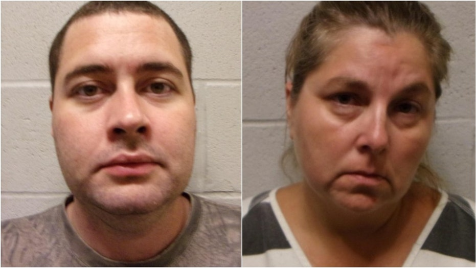 Jimmy Jones Sr., 34, and Amy Jones, 46, were among those arrested on child neglect charges, authorities say.