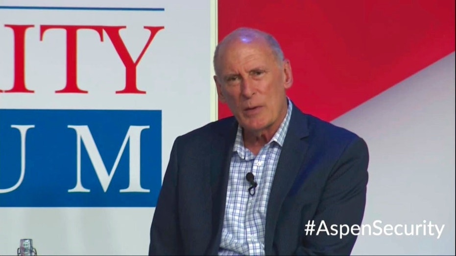 Director Dan Coats at the Aspen Security Forum in Colorado on Thursday. Coats says his Thursday comments there were not intended to be critical of the president's handling of the summit.