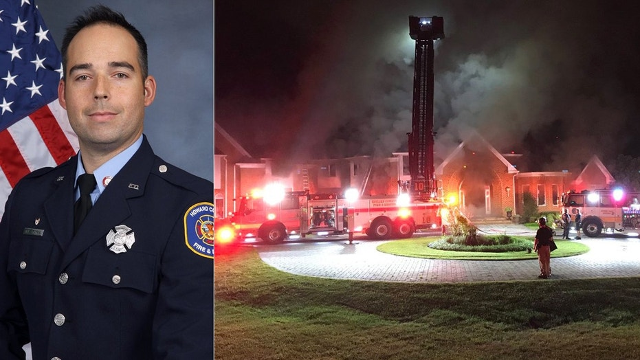Nathan Flynn, a 13-year veteran, was identified as the firefighter who died battling a seven-alarm blaze.