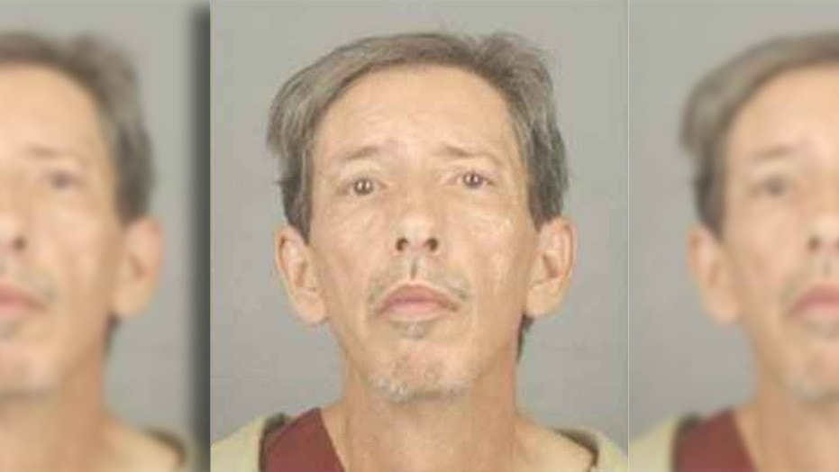Greg Jesmer stabbed his 101-year-old neighbor to death, according to police.