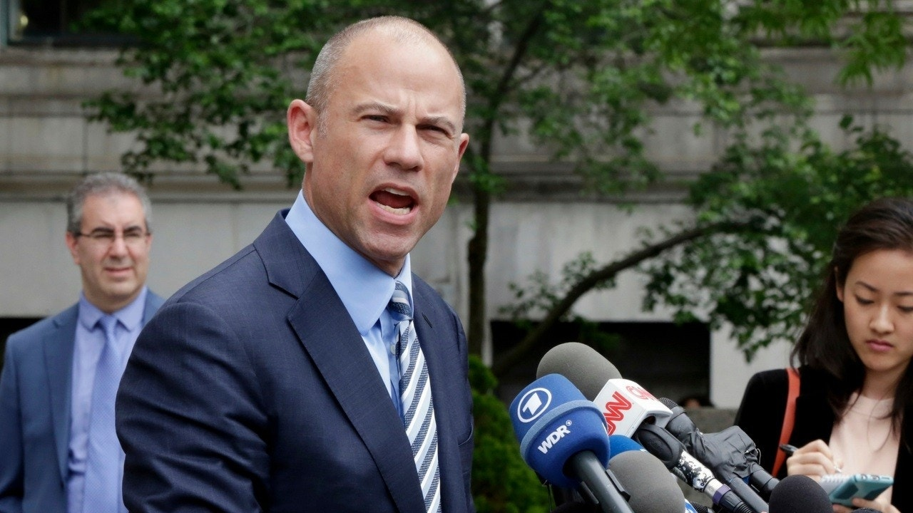 Lawyer Avenatti is a cable news fixture -- but in this case, he wants privacy