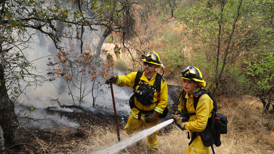 Thousands Of Firefighters Battle 17 'Significant' Fires Across Calif.