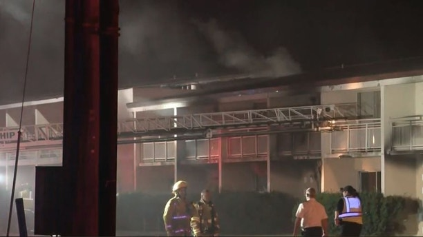 Woman, 5 children killed in motel fire in Michigan