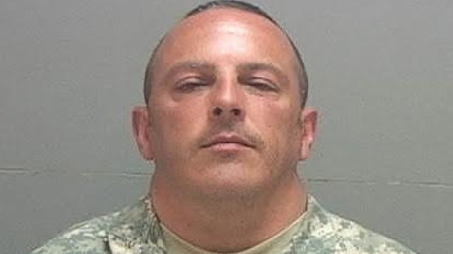 Stephen Glenn Grogan, 41, a New Jersey National Guardsman, allegedly took upskirt photos of women while in Utah for training, reports said.