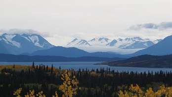 Yukon Wilderness - forests, rivers and mountain ranges