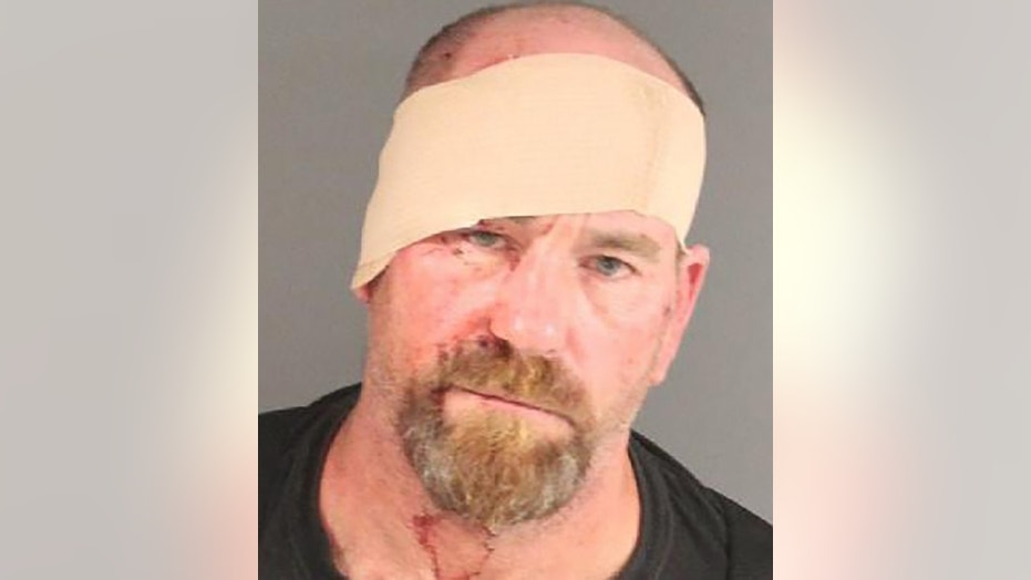 Edward Burns was charged in a stabbing at his Massachusetts home. The photo is from the July 18 incident.