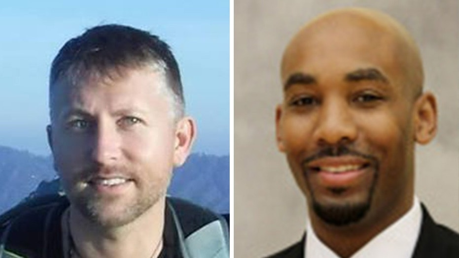 Jamill Jones, right, was charged with assault in connection with a deadly attack on tourist Sandor Szabo in New York City.