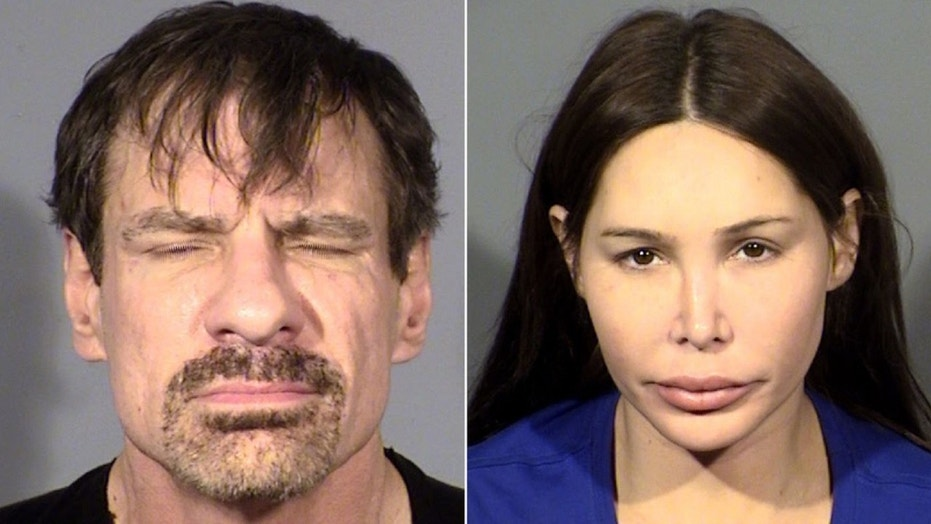 Henry T. Nicholas and Ashley Fargo were arrested Tuesday in a Las Vegas hotel with suspicions about drug trafficking.