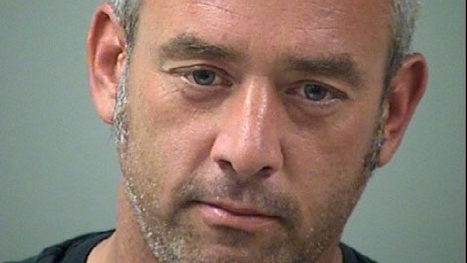 Anthony Shannon, 38, has been linked to a string of odd thefts.