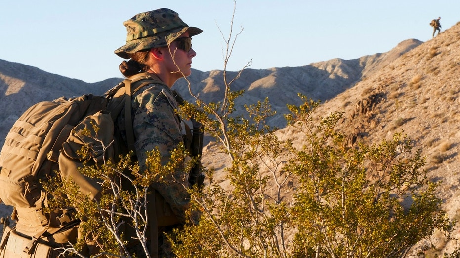 Marine Corps Lt. Marina A. Hierl becomes first