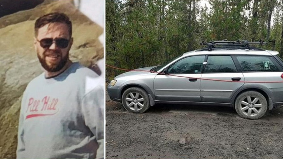 Rescuers found Matthew B. Matheny, 40, of Warren, Ohio, on a flank of Mount St. Helens in the Cascade Mountains of Washington state, nearly one week after he set out on a day hike and failed to return, authorities said Wednesday. (Cowlitz County Sheriff's Office)
