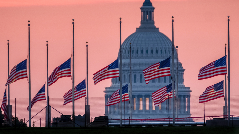 White House wobbles on US  flag after McCain death