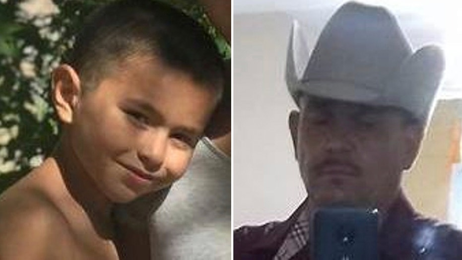 Victor Nuñez-Coronado, 8, is one of two missing Phoenix boys, police say. They are said to be with their father, Dimas Coronado, 47.