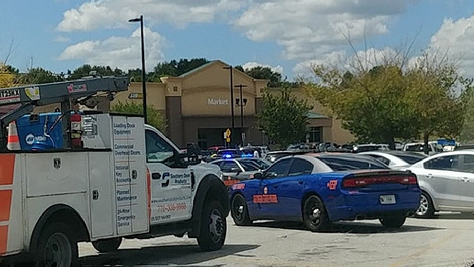 A shootout following a shoplifting incident at a Walmart in Covington, Georgia, has left a police officer wounded and a suspect dead.