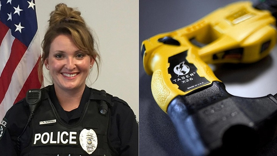 Officer Maryssa Boskoski was placed on unpaid leave for activating a Taser to wake up a sleeping student.