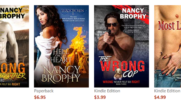 nancy brophy amazon